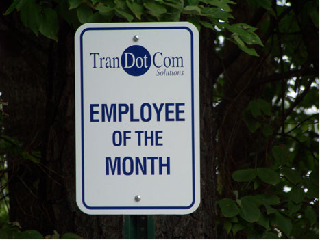 Employee of the Month Parking